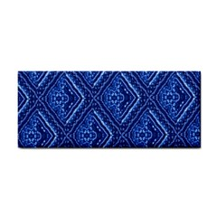Blue Fractal Background Cosmetic Storage Cases