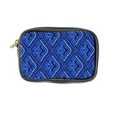 Blue Fractal Background Coin Purse