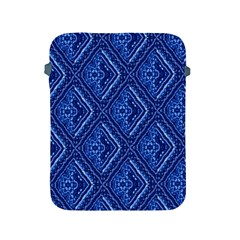 Blue Fractal Background Apple iPad 2/3/4 Protective Soft Cases