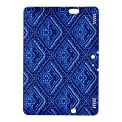 Blue Fractal Background Kindle Fire HDX 8.9  Hardshell Case