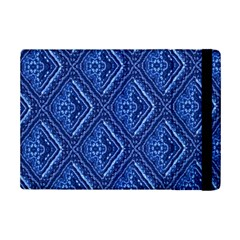 Blue Fractal Background iPad Mini 2 Flip Cases
