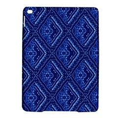 Blue Fractal Background iPad Air 2 Hardshell Cases