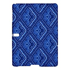 Blue Fractal Background Samsung Galaxy Tab S (10.5 ) Hardshell Case