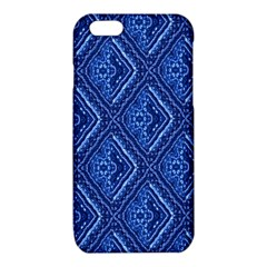 Blue Fractal Background iPhone 6/6S TPU Case