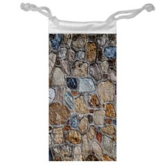 Multi Color Stones Wall Texture Jewelry Bag