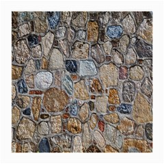 Multi Color Stones Wall Texture Medium Glasses Cloth (2 Side)