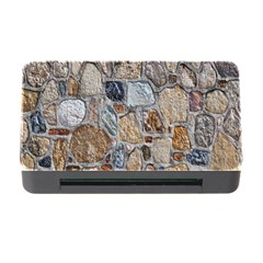 Multi Color Stones Wall Texture Memory Card Reader With Cf