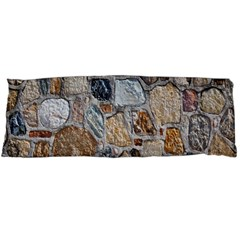 Multi Color Stones Wall Texture Body Pillow Case Dakimakura (two Sides)