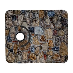 Multi Color Stones Wall Texture Galaxy S3 (flip/folio)