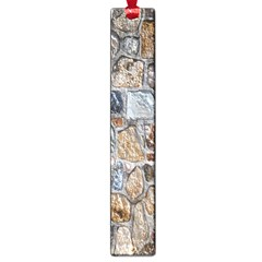 Multi Color Stones Wall Texture Large Book Marks