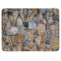 Multi Color Stones Wall Texture Samsung Galaxy Tab 7  P1000 Flip Case