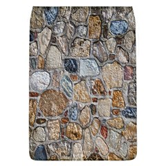 Multi Color Stones Wall Texture Flap Covers (L)