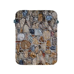 Multi Color Stones Wall Texture Apple Ipad 2/3/4 Protective Soft Cases