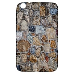 Multi Color Stones Wall Texture Samsung Galaxy Tab 3 (8 ) T3100 Hardshell Case