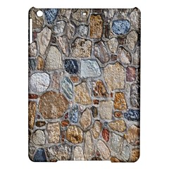 Multi Color Stones Wall Texture iPad Air Hardshell Cases