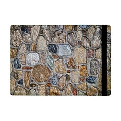 Multi Color Stones Wall Texture iPad Mini 2 Flip Cases