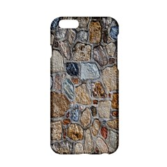 Multi Color Stones Wall Texture Apple iPhone 6/6S Hardshell Case