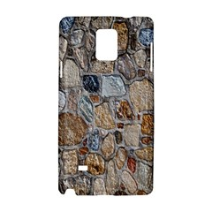 Multi Color Stones Wall Texture Samsung Galaxy Note 4 Hardshell Case