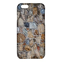 Multi Color Stones Wall Texture iPhone 6/6S TPU Case