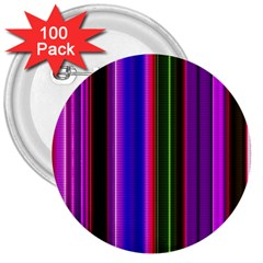 Fun Striped Background Design Pattern 3  Buttons (100 pack)