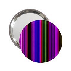Fun Striped Background Design Pattern 2 25  Handbag Mirrors