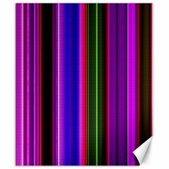 Fun Striped Background Design Pattern Canvas 20  X 24