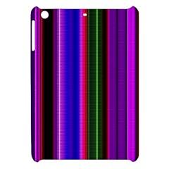 Fun Striped Background Design Pattern Apple iPad Mini Hardshell Case