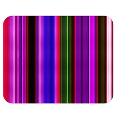 Fun Striped Background Design Pattern Double Sided Flano Blanket (medium)