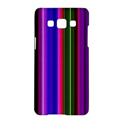 Fun Striped Background Design Pattern Samsung Galaxy A5 Hardshell Case