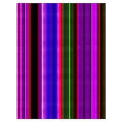 Fun Striped Background Design Pattern Drawstring Bag (large)