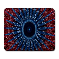 Digital Circle Ornament Computer Graphic Large Mousepads