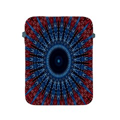 Digital Circle Ornament Computer Graphic Apple iPad 2/3/4 Protective Soft Cases