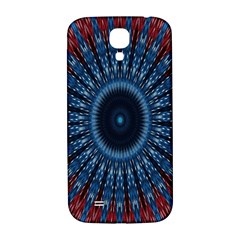 Digital Circle Ornament Computer Graphic Samsung Galaxy S4 I9500/i9505  Hardshell Back Case
