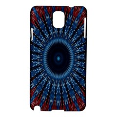 Digital Circle Ornament Computer Graphic Samsung Galaxy Note 3 N9005 Hardshell Case