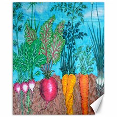 Mural Displaying Array Of Garden Vegetables Canvas 11  X 14