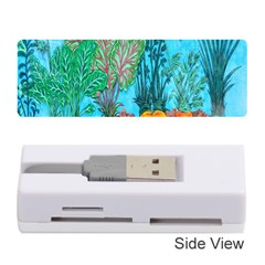Mural Displaying Array Of Garden Vegetables Memory Card Reader (stick)