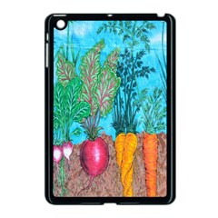 Mural Displaying Array Of Garden Vegetables Apple iPad Mini Case (Black)