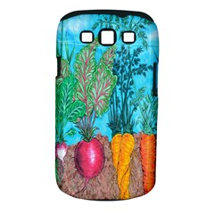 Mural Displaying Array Of Garden Vegetables Samsung Galaxy S Iii Classic Hardshell Case (pc+silicone)