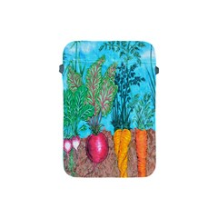 Mural Displaying Array Of Garden Vegetables Apple iPad Mini Protective Soft Cases