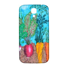 Mural Displaying Array Of Garden Vegetables Samsung Galaxy S4 I9500/I9505  Hardshell Back Case