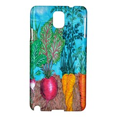 Mural Displaying Array Of Garden Vegetables Samsung Galaxy Note 3 N9005 Hardshell Case