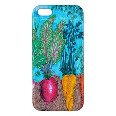 Mural Displaying Array Of Garden Vegetables iPhone 5S/ SE Premium Hardshell Case