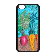Mural Displaying Array Of Garden Vegetables Apple iPhone 5C Seamless Case (Black)