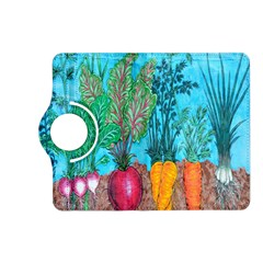 Mural Displaying Array Of Garden Vegetables Kindle Fire HD (2013) Flip 360 Case