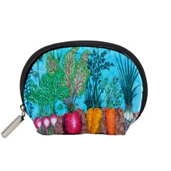 Mural Displaying Array Of Garden Vegetables Accessory Pouches (small)