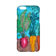 Mural Displaying Array Of Garden Vegetables Apple iPhone 6/6S Hardshell Case