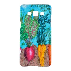 Mural Displaying Array Of Garden Vegetables Samsung Galaxy A5 Hardshell Case