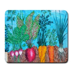 Mural Displaying Array Of Garden Vegetables Large Mousepads