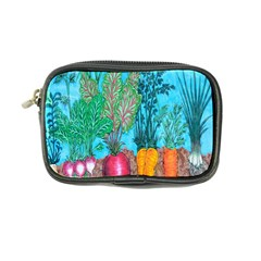 Mural Displaying Array Of Garden Vegetables Coin Purse