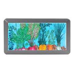 Mural Displaying Array Of Garden Vegetables Memory Card Reader (Mini)